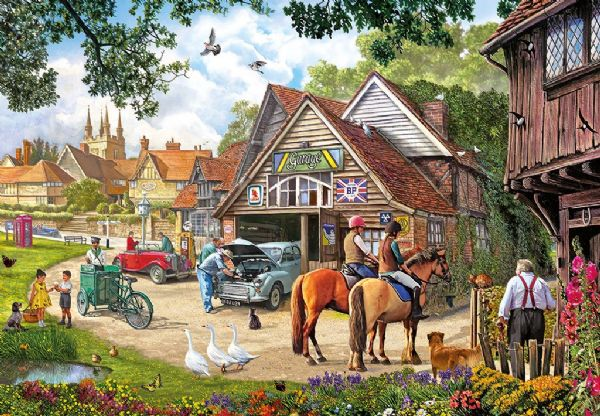 Afternoon Amble, 1000 piece Jigsaw by Gibsons. G6188